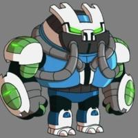 Ben 10 Reboot Earth 1010 Omni Kix Slapback Is The Omnitrix S Omni Kix Version Of Slapback Season 4 Digita Ben 10 Ben 10 Alien Force Cartoon Network Art