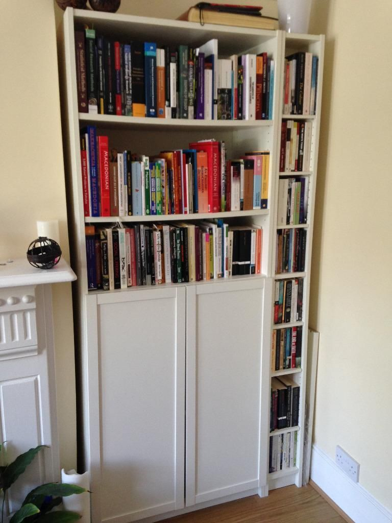 Gnedby Regal Billy Bookcase With Gnedby Shelf Unit White Google Search