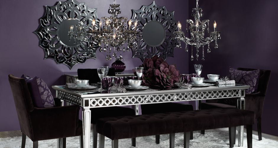 My Future Dining Room.Sophie Mirrored Dining Table From Z Gallerie