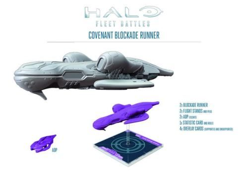 Spartan-Games-Halo-BNIB-Blockade-Runner-HFCV13 | Spacecrafts