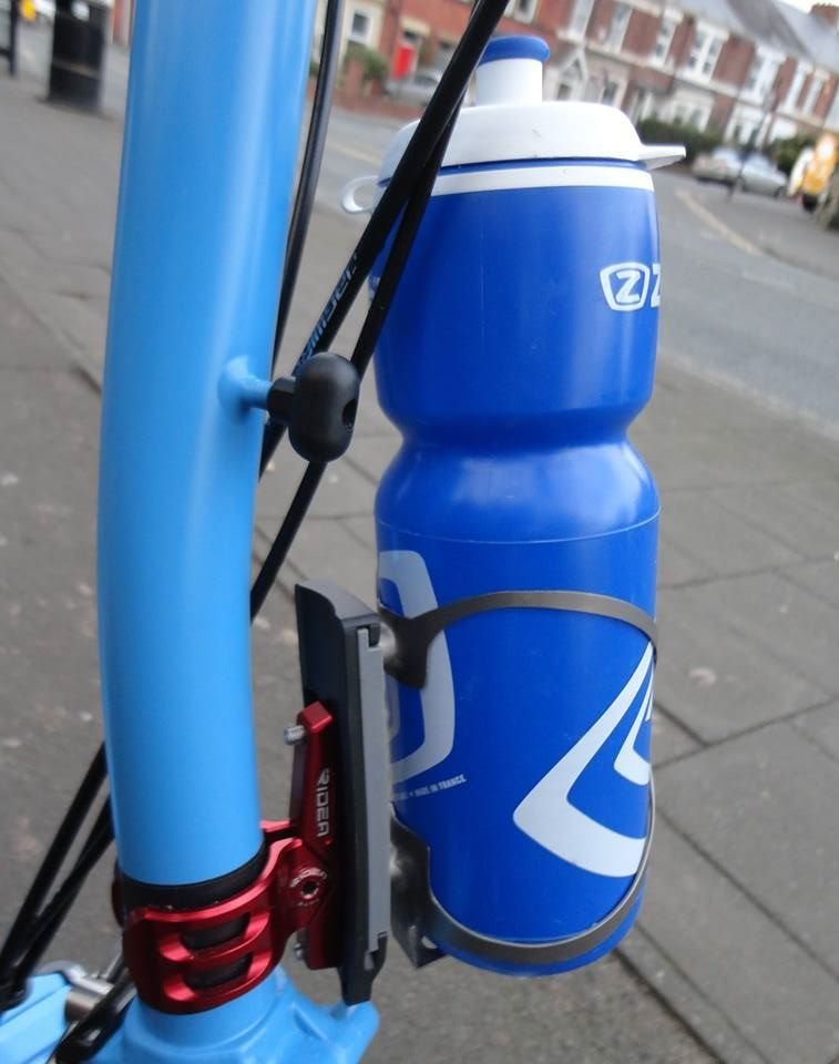 Ridea With Topeak Qr Bottle Cage Adapter