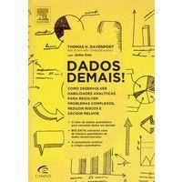 """[CultoMob] Livro """"Dados Demais!"""" R$ 28,15"""
