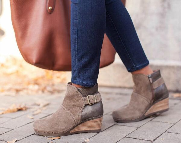 Dansko Ankle Boots Review: 5 Reasons to Love the Shirley Bootie. Comfortable  Women's ShoesBoot HeelsWedge ...