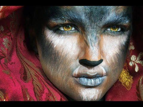 wolf halloween makeup youtube - Wolf Makeup Halloween