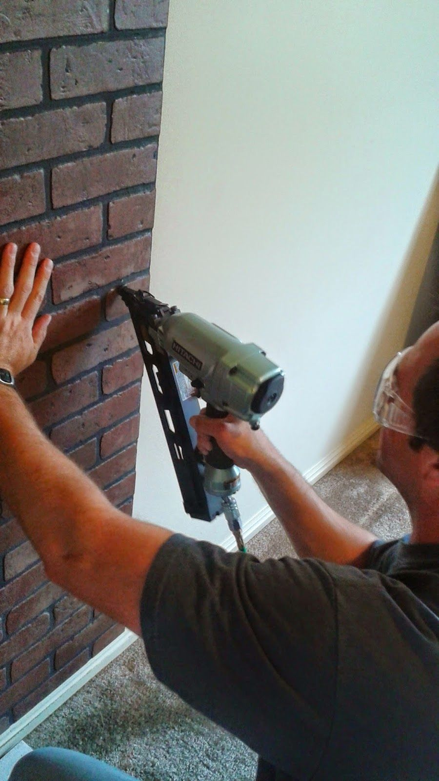 How To Install A Faux Brick Wall Faux Brick Walls Faux