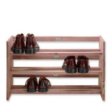 johnston murphy shoe rack