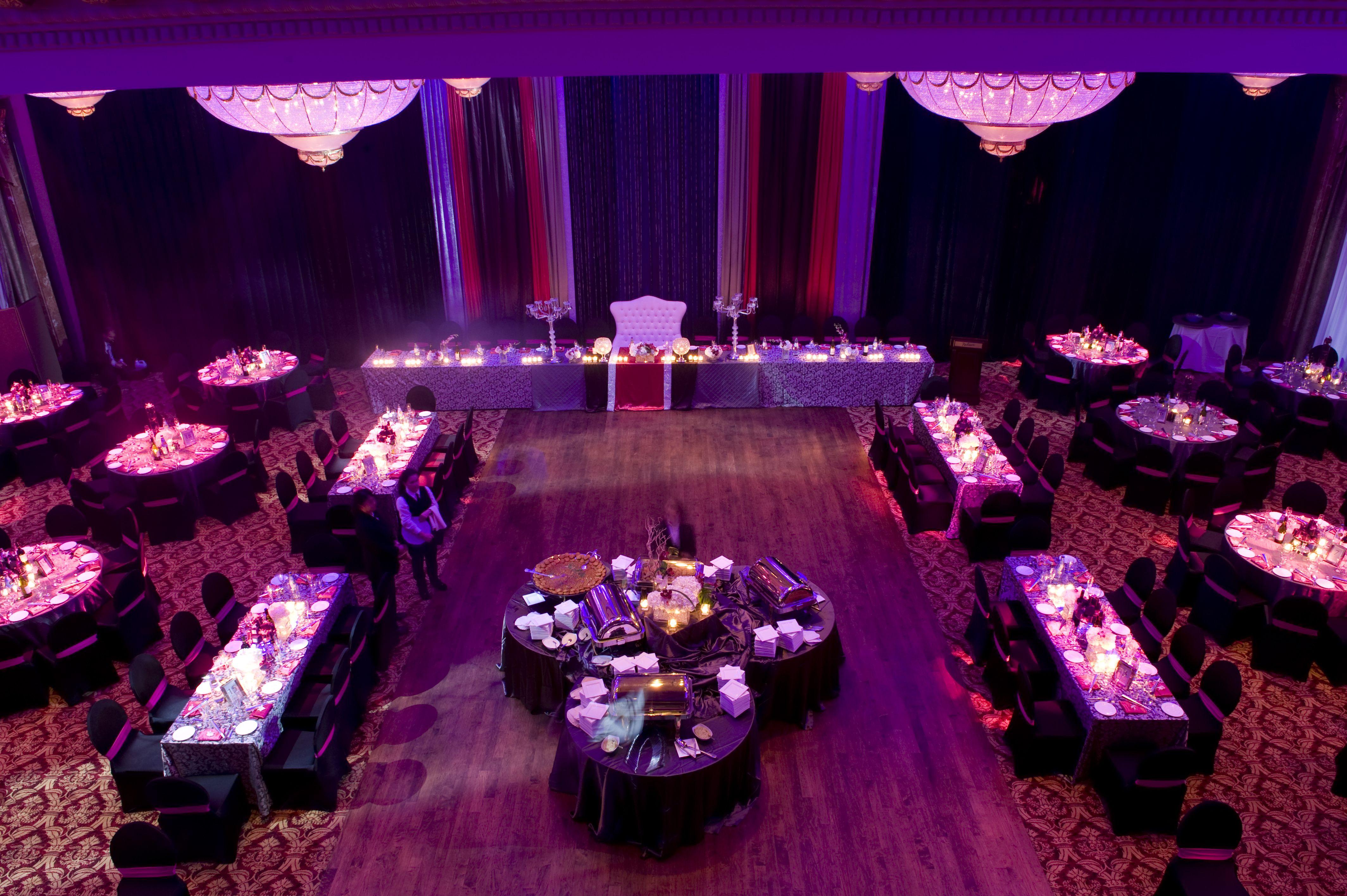 Top wedding venues in the gta purple themes reception and weddings fuschia wedding ideas fuschia and purple theme image from kumari photo design junglespirit Choice Image