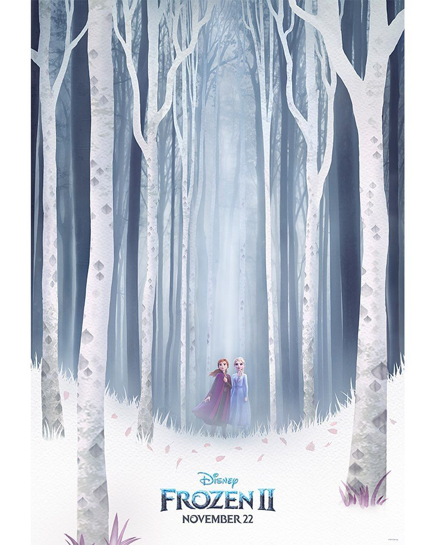 Check Out The Brand New Frozen2 Poster From D23expo See The