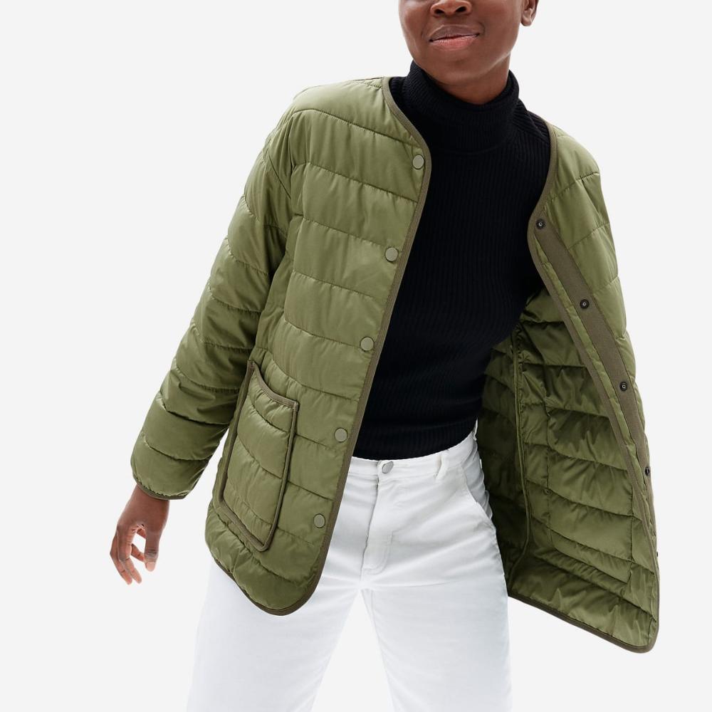 Women S Renew Channeled Liner Everlane Autumn Jacket Women Jackets Fall Jackets [ 1000 x 1000 Pixel ]