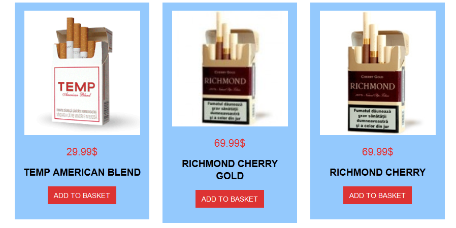 Where to buy Mild Seven cigarettes in Virginia