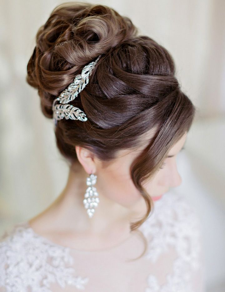 48e613658cf Drop Dead Gorgeous Curly Wedding Updos ~ we ♥ this! moncheribridals.com
