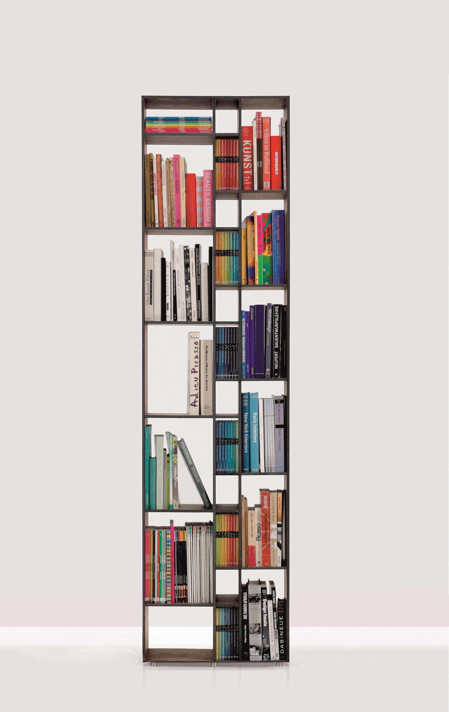 Offenes Freistehendes Wand Bücherregal Aus Holz CODE 1 By ZEITRAUM | Design  Nana Bambuch