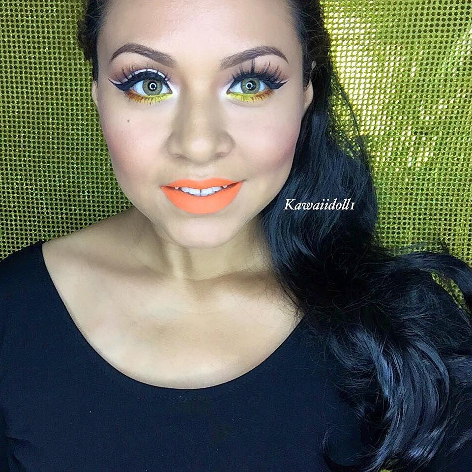 Amarillo naranja makeup pao pinterest naranja y amarillo - Amarillo naranja ...