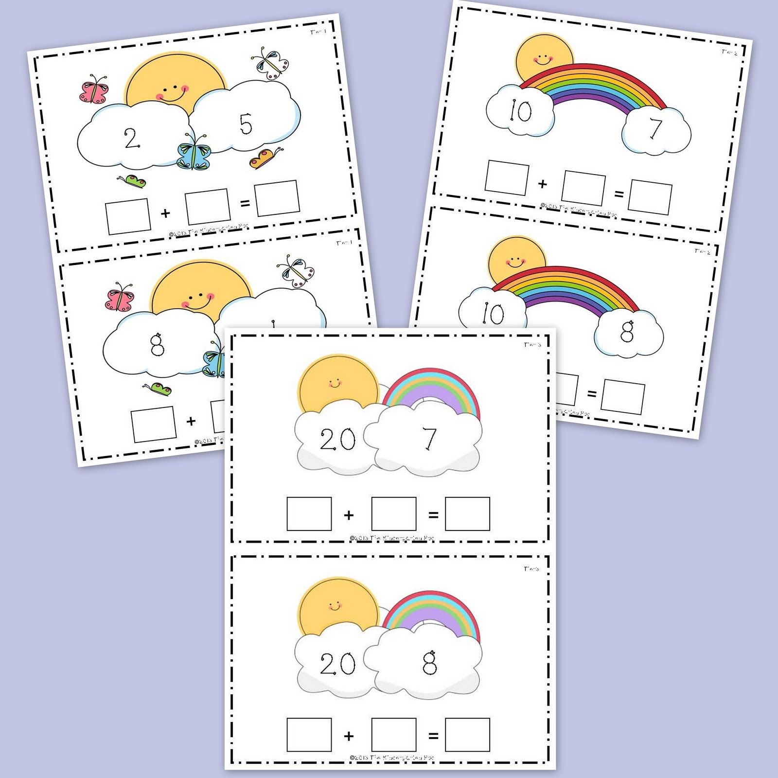 The Kindergarten Pod Cute Spring Themed Activity To