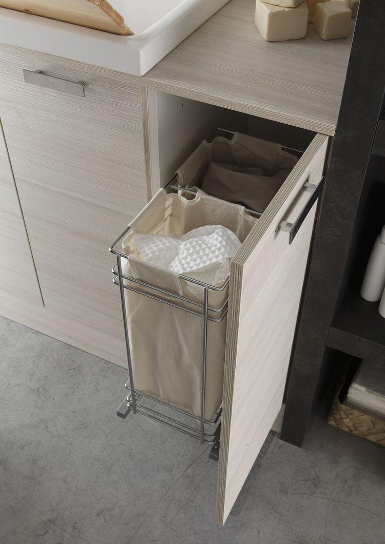 Photo of Mobile lavanderia componibile W&D – COMPOSIZIONE 3 Collezione W&D By Arcom