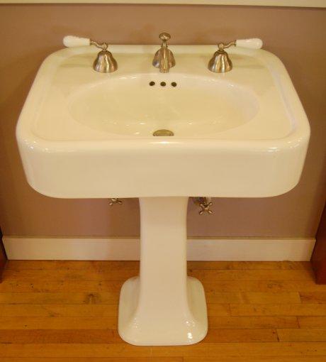 reproduction-1930s-bathroom-sink in 2020 | 1930s bathroom ...