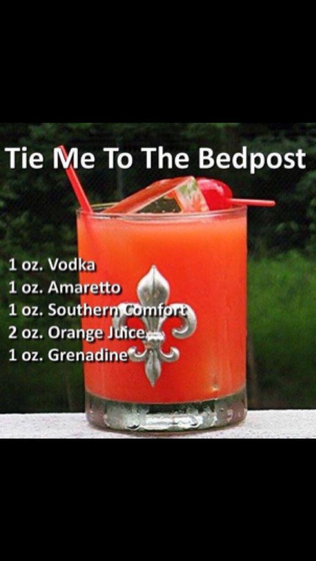 Tie Bedpost Red Silk Panties Photos