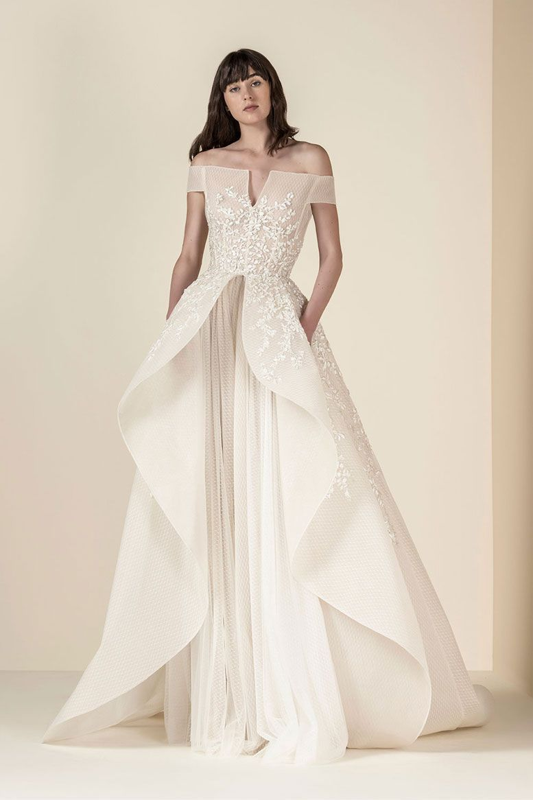 SAIID KOBEISY Spring 2019 Bridal Collection