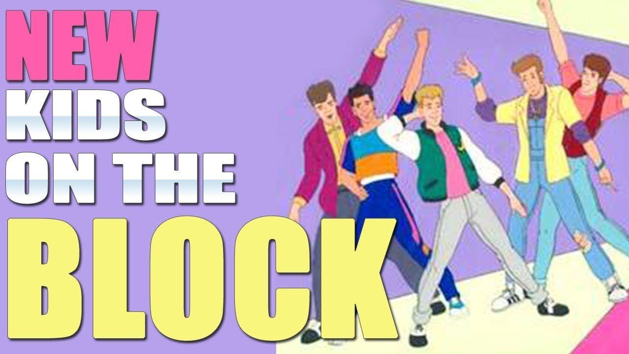 New Kids On The Block Intro Nkotb Cartoon New Kids Nkotb