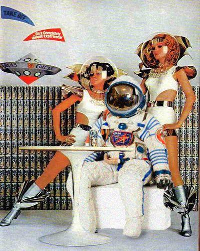 #MajorTom #Astronaut #Collage #Beer