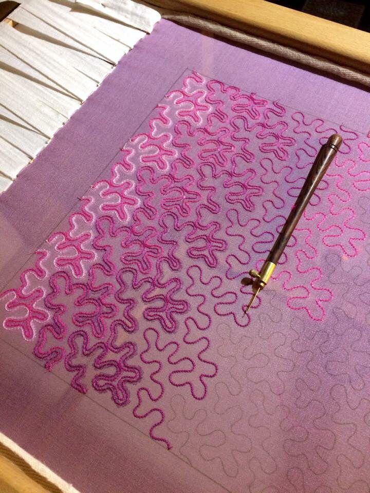 Tambour Lunville Embroidery Beading Technique Ecole Lesage