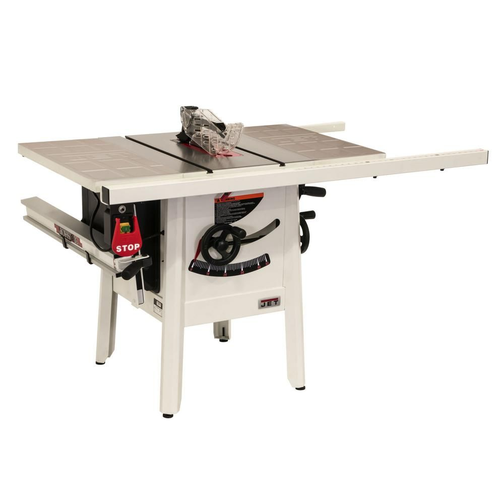 Jet Proshop Ii 10 In Table Saw With 30 In Rip Stamped Steel Jps