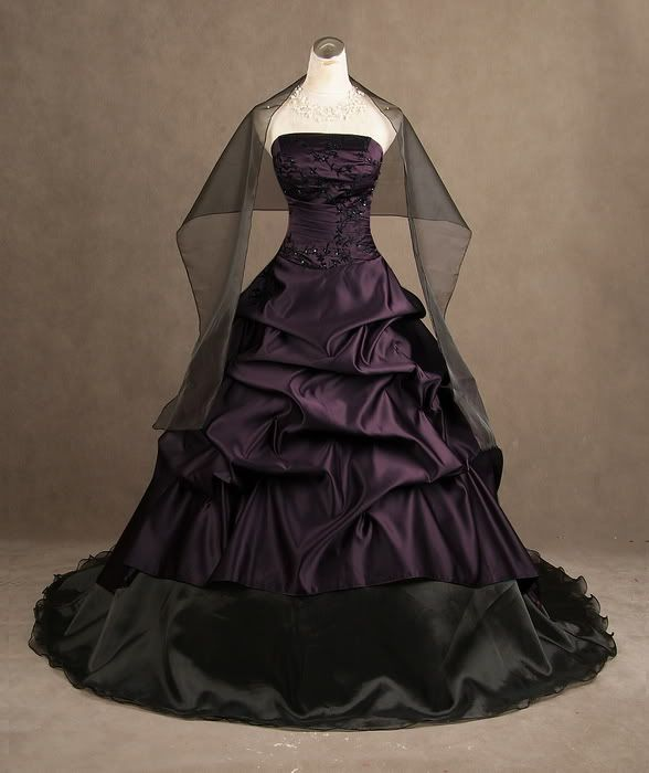 my dream wedding gown. with d exact color...I marched down the aisle ...