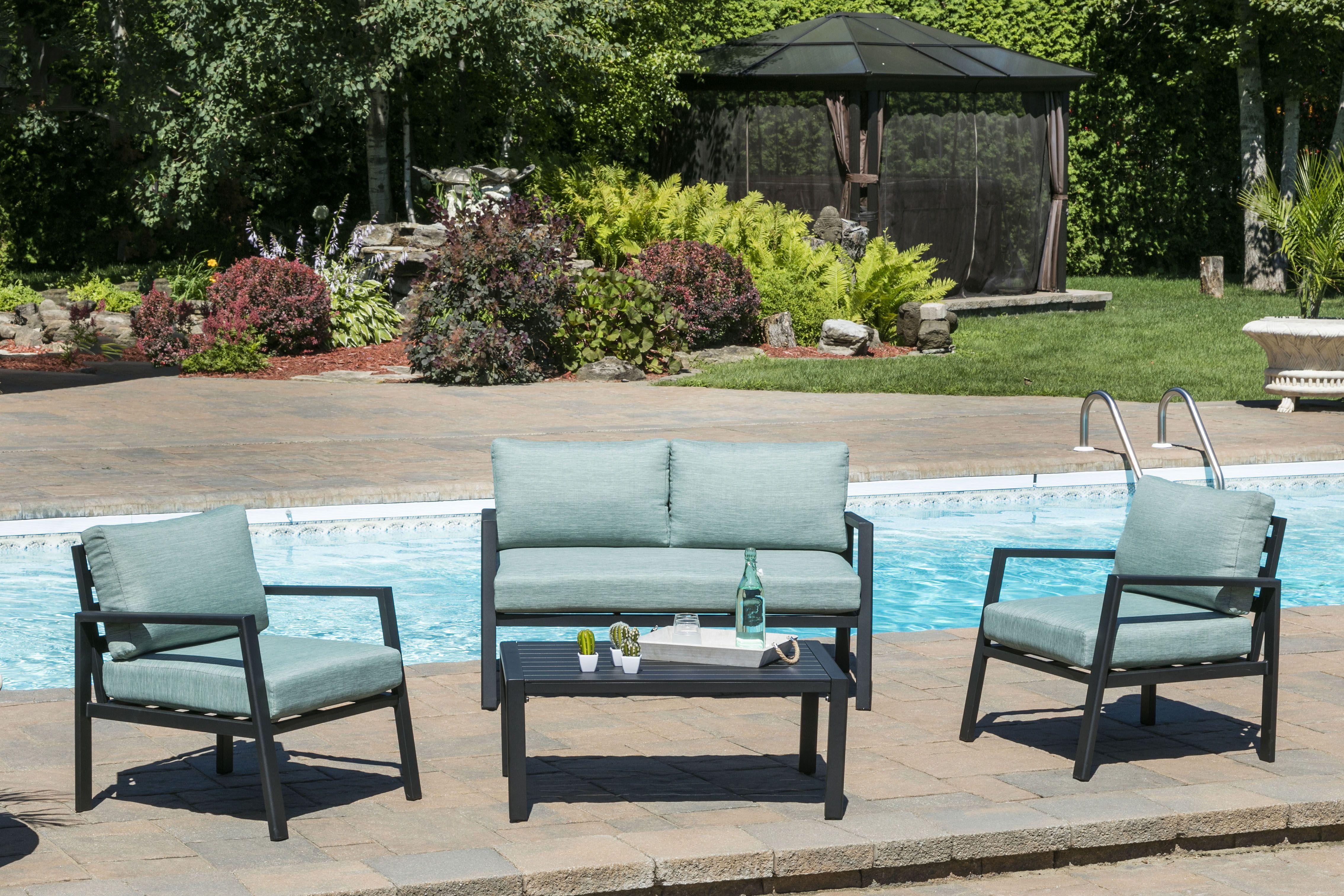 Salon Exterieur Laguna Outdoor Furniture Sets Outdoor Decor Deep Seating