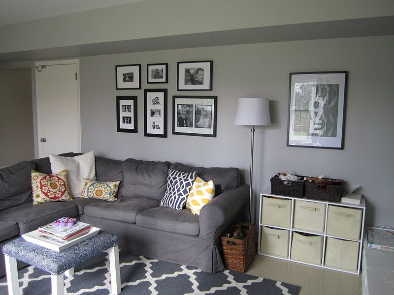Swoon Style and Home Adding a Gallery Wall to the Den in
