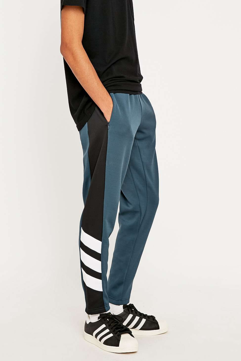 pantaloni adidas trefoil uomo