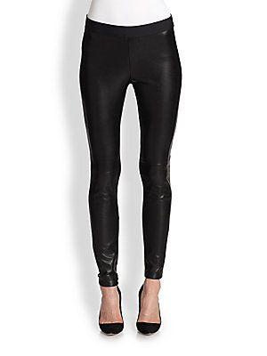 Bailey 44 Faux Leather Combo Pants