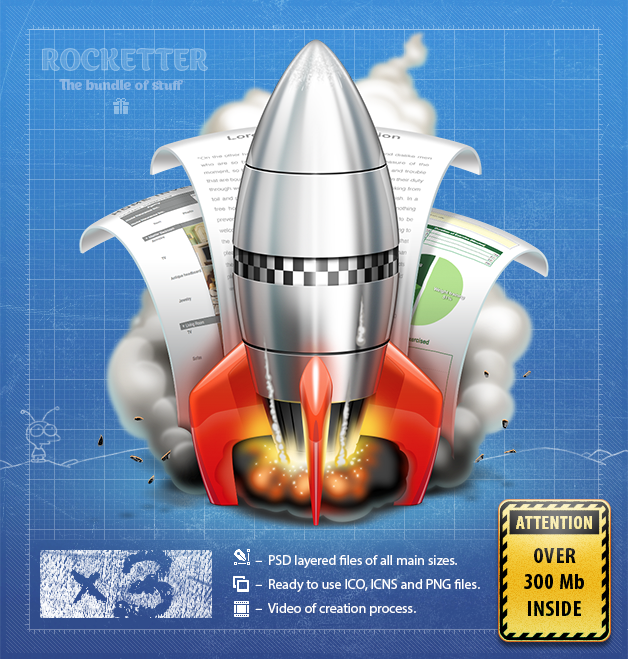Rocketter Happyness Pack by ~ncrow on deviantART