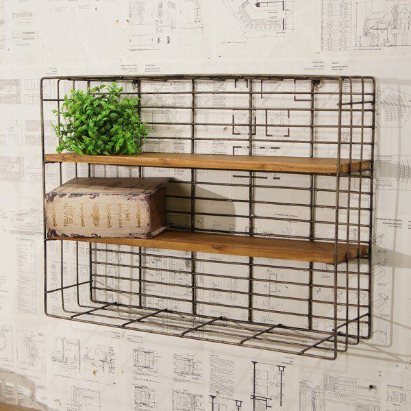 Hang Our Metal Wire Wall Rack In Your Craft Room Mudroom Laundry Or Office For Extra Storage More Organizational Decor And Stylish Please