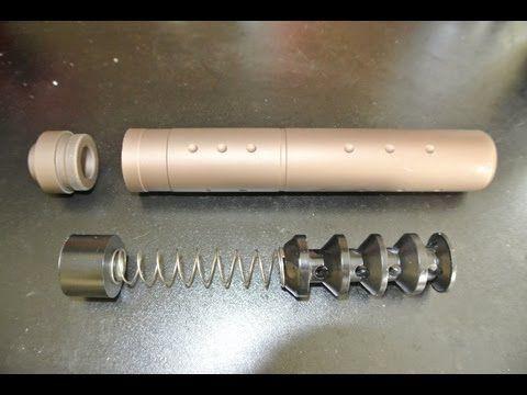 How to Make Suppressor Baffles | guns & weapons | Guns, Guns, ammo