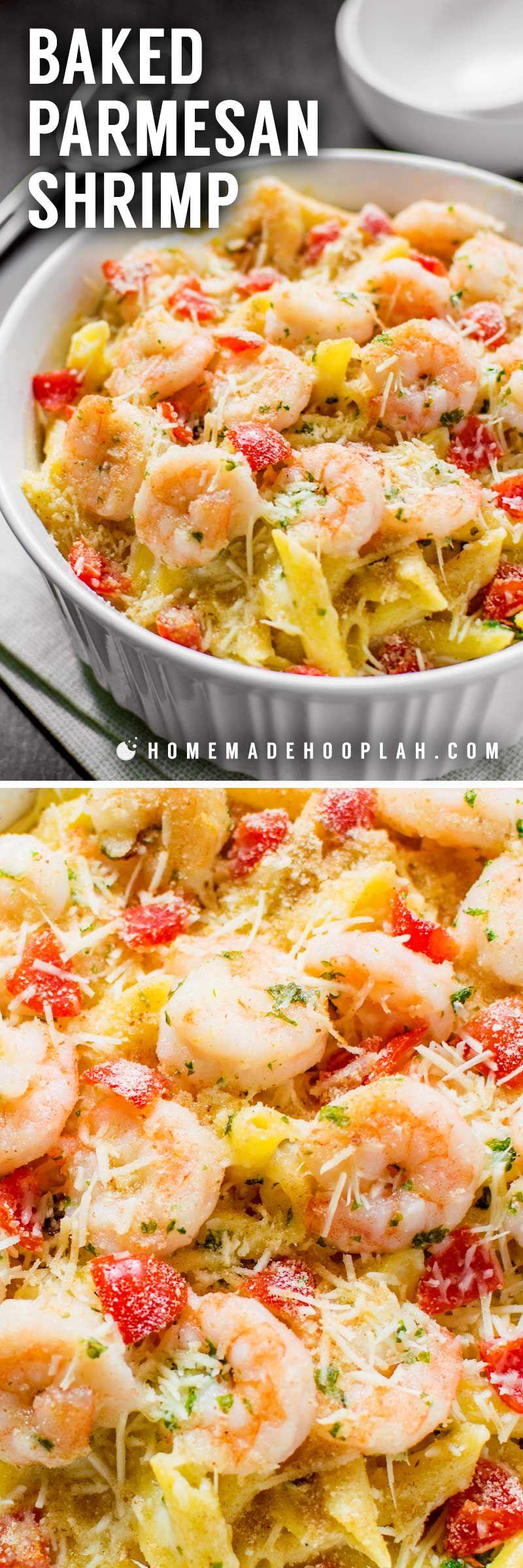 Baked Parmesan Shrimp! Bring the iconic taste of Olive