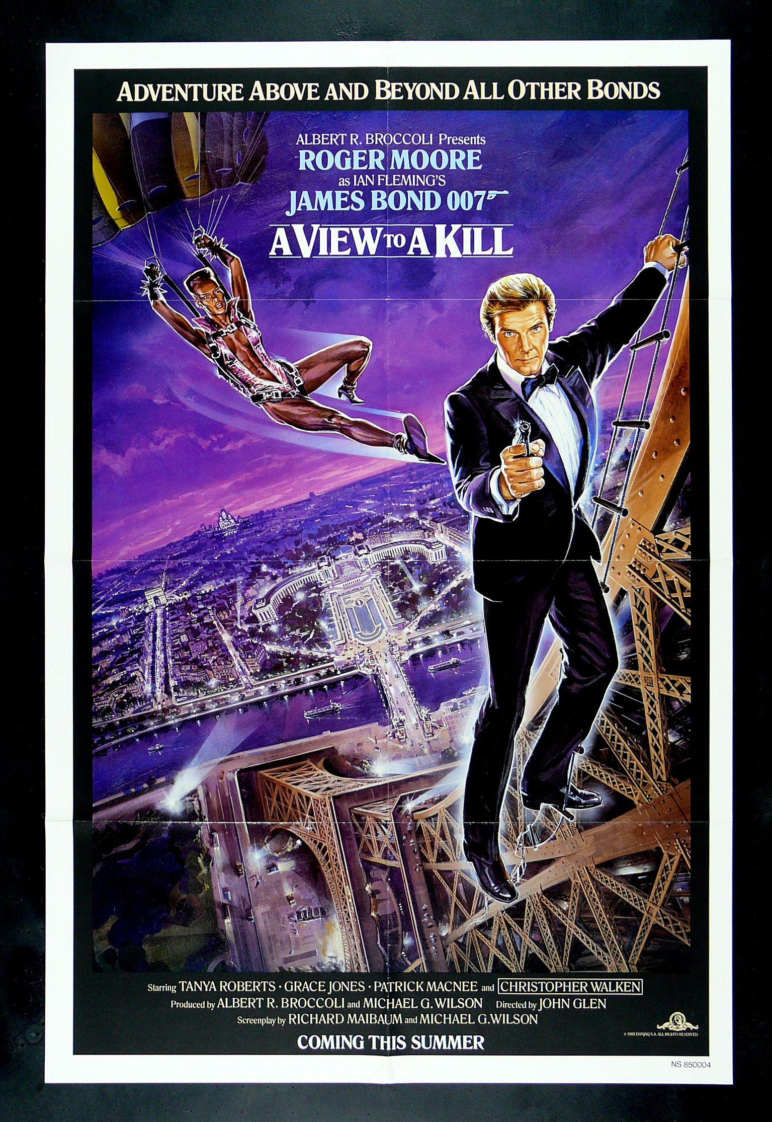 A View To A Kill 1985 Director John Glen Writers Richard