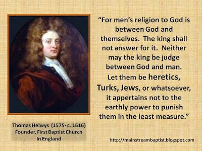 Baptists and Freedom of Religion