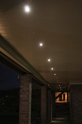 dekor outdoor led recessed lights light kits outdoor low