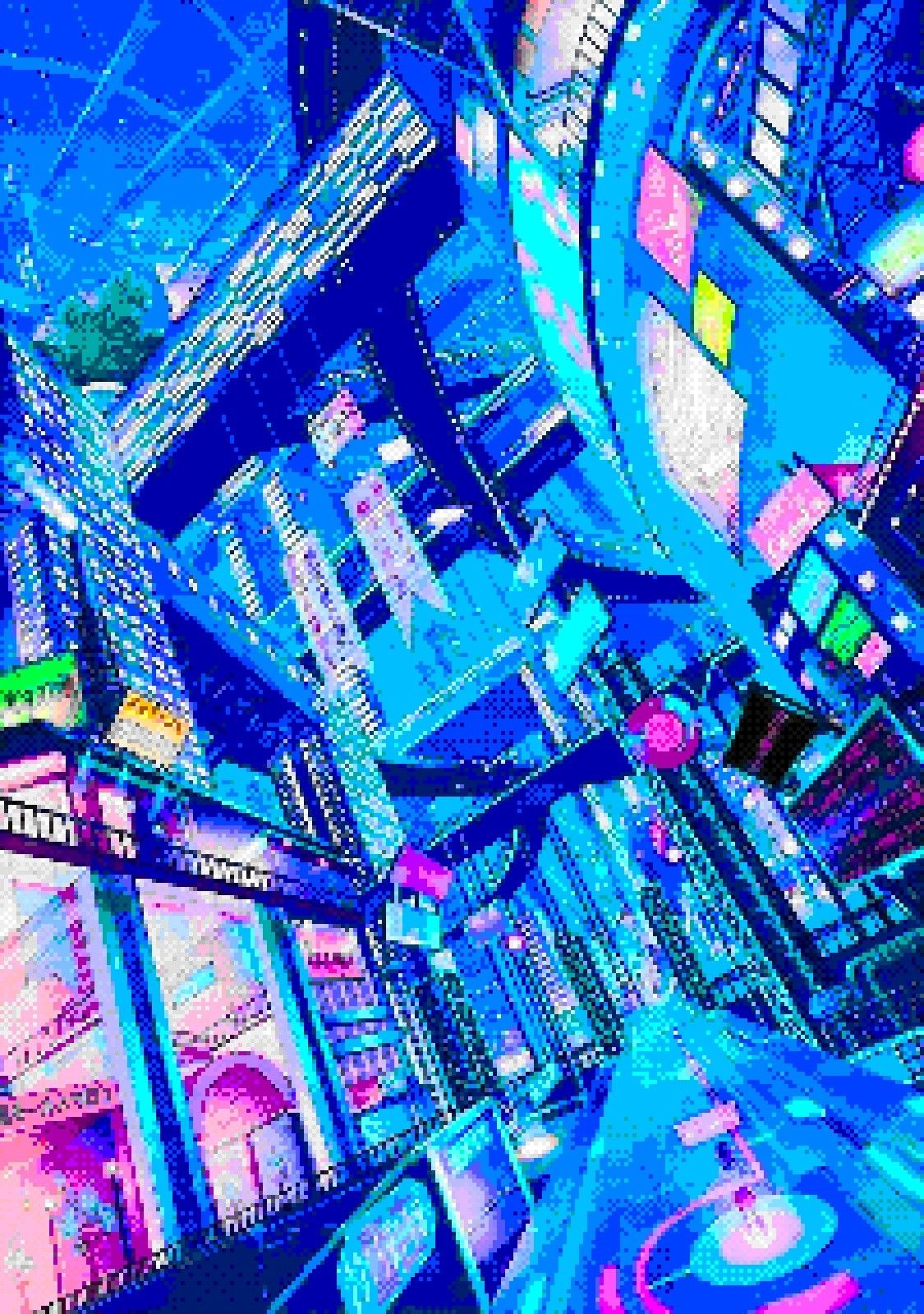 Pin by ??? ??? on Pixel Art (With images) Cyberpunk