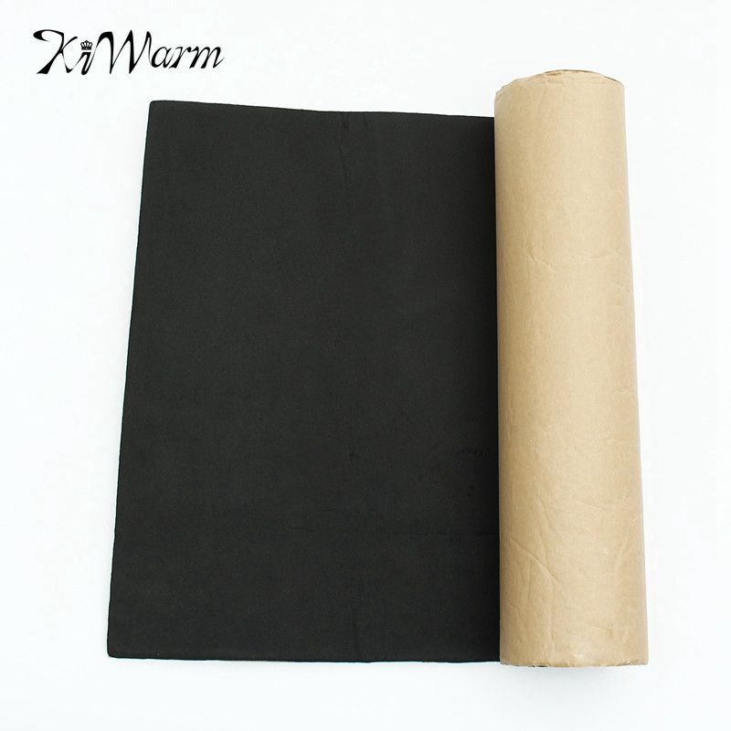 39 4 X 19 7 Black Rubber Vehicle Insulation Closed Cell Foam Sheet Self Adhesive Flame Retardant Check Be Sound Proofing Insulation Sheets Heat Insulation