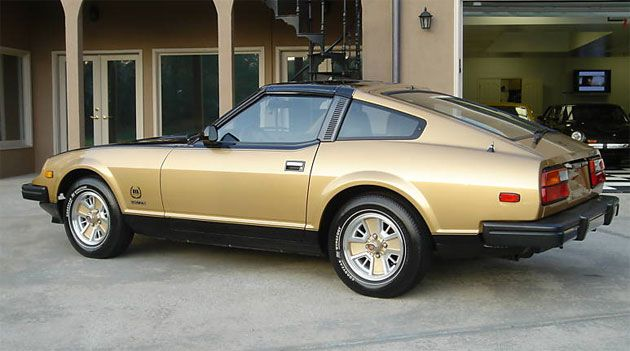 Ebay Find Of The Day 1980 Datsun 280zx Black Gold 1 Datsun Nissan Nissan Z Cars