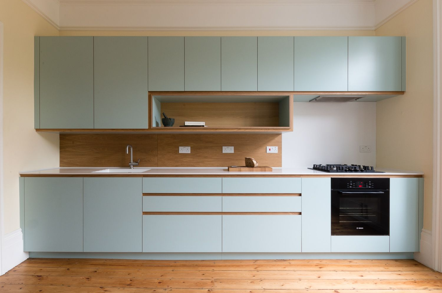 Best Bespoke Kitchen In Custom Laminated Birch Plywood And 640 x 480