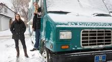 Kara Fenske and Nevin Fenske have parked the @Driftfoodtruck for the winter but are busy with their new bricks-and-mortar restaurant in Edmonton. (Amber Bracken for The Globe and Mail)