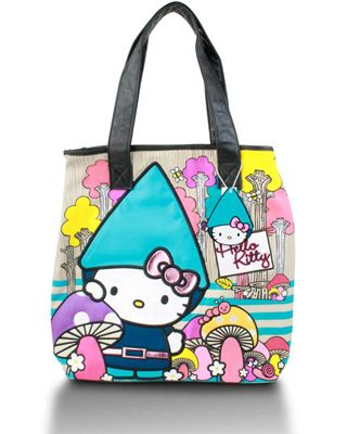 5375e3568 Hello Kitty Gnome Tote $62 | Favorite Items from Baghaus.com | Hello ...