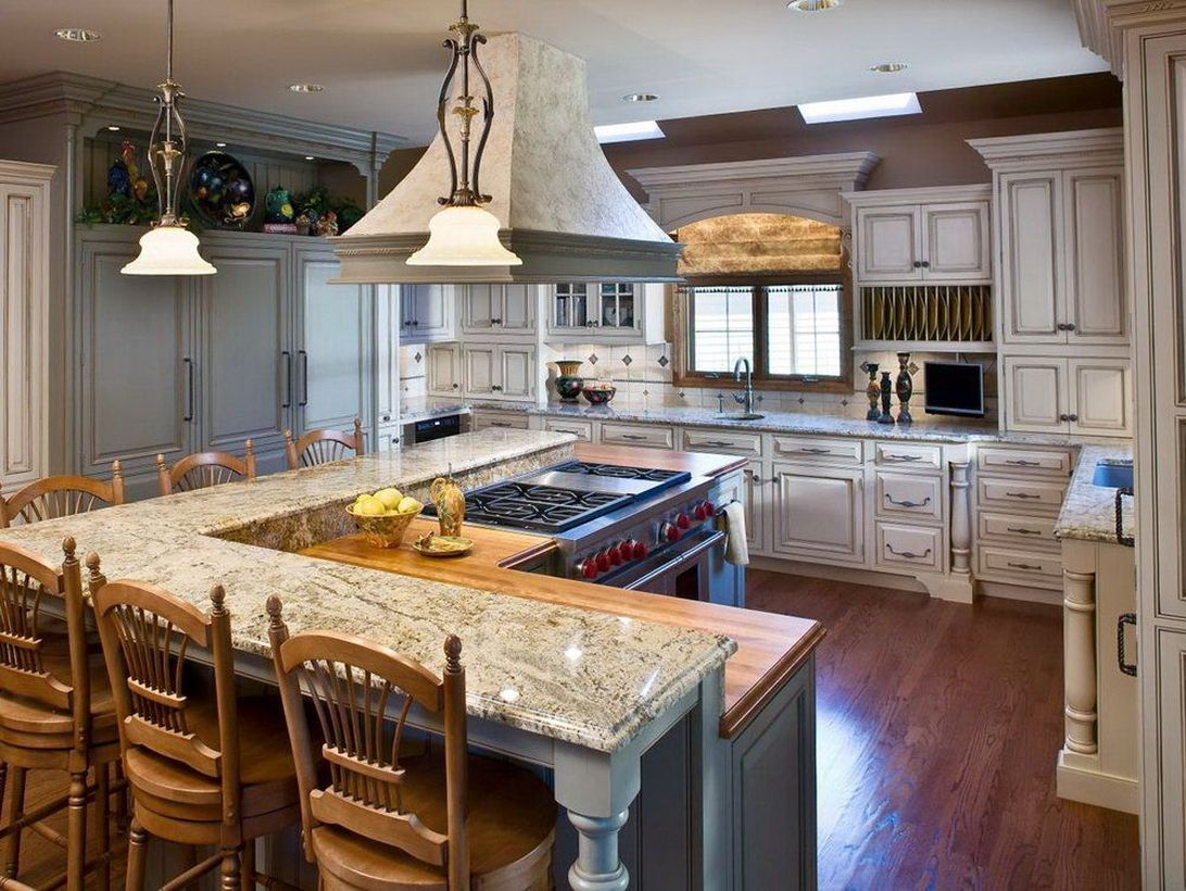 42 Smart Kitchen Island Booth Design Ideas For You Decoona In 2020 Contemporary Kitchen Island Kitchen Layout L Shaped Kitchen