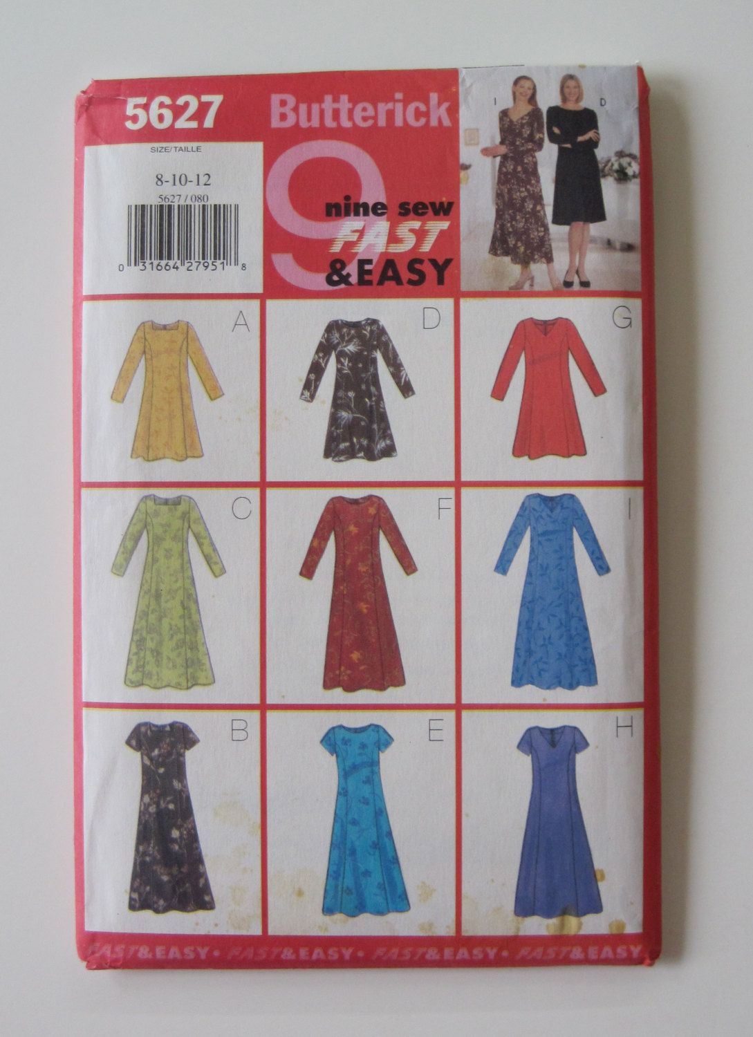 Hardtofind pattern in excellent condition u butterick b dress