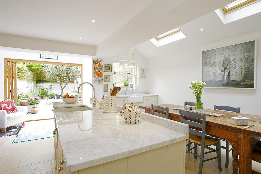 Stockwell In Stockwell Greater London Side Extension Kitchen