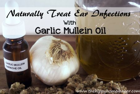 Soothe Ear Infections With Garlic Mullein Oil