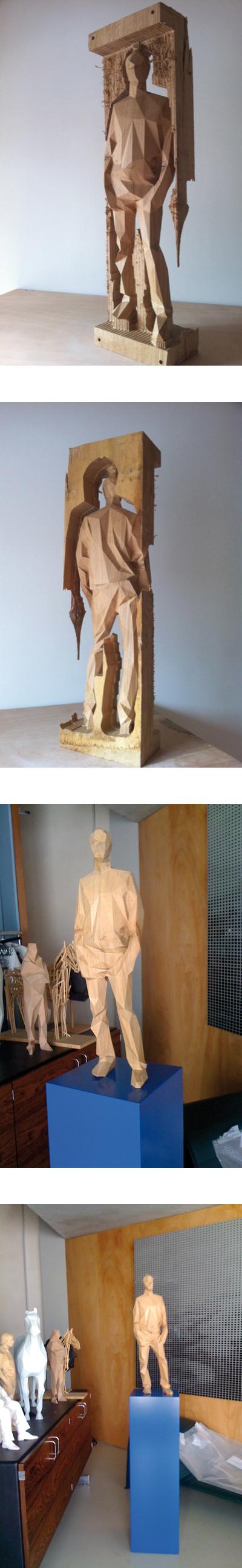 great scultpures Polygon design, Art design, Sculpture