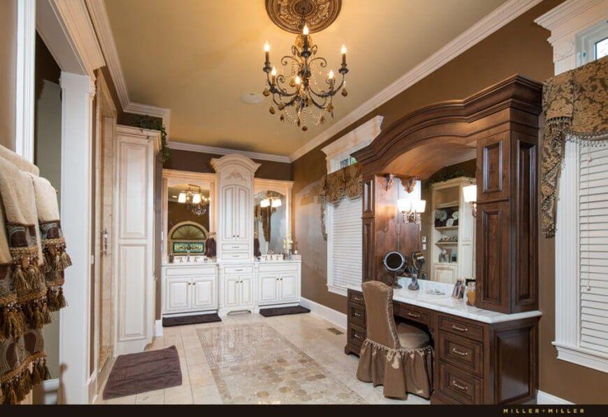 Ebenso ist das master-Bad überschwemmt reichen Materialien aus - marmorboden wohnzimmer